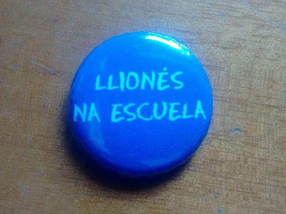 chapina Llionés na escuela