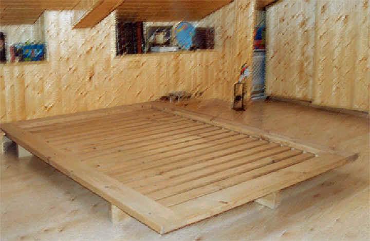 Producto 1 de arka for Como hacer una cama alta de madera