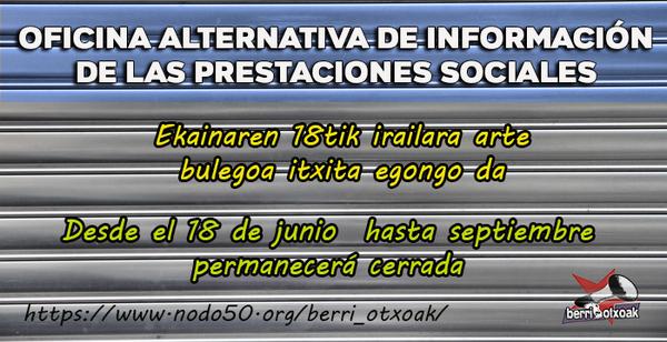 Oficina de informaci nberri otxoak berri otxoak for Oficina empadronamiento