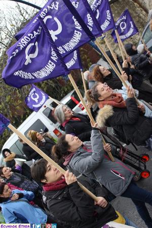 Momento de la marcha