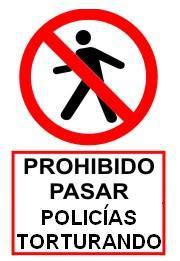 LA POLICÍA TORTURA Y ASESINA!