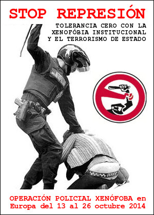 Stop Represion xenofobia institucional Europa