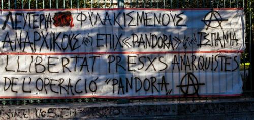 Pancarta solidaria