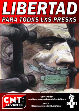 Campaña contra las cárceles Levante CNT-AIT