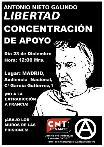 Cartel Antonio Nieto Galindo