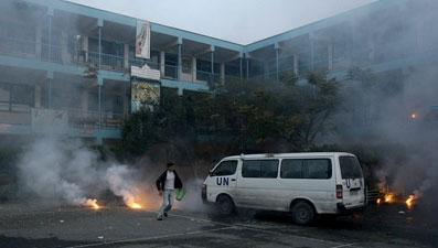 bombardeo hospital