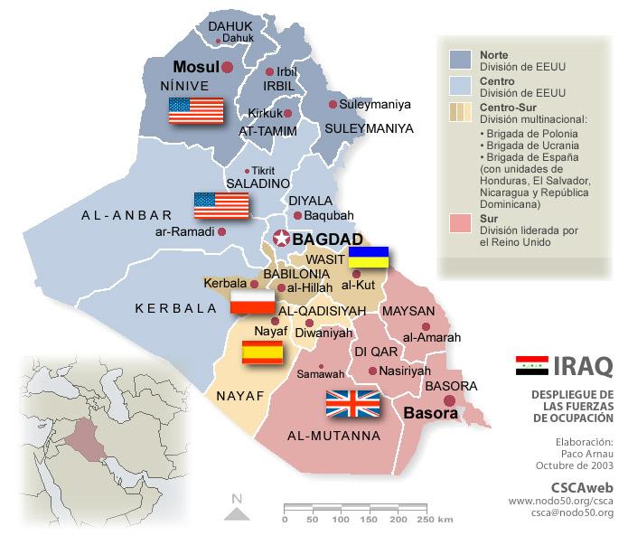 Cartograf a b sica de Iraq – Mapa De Iraq