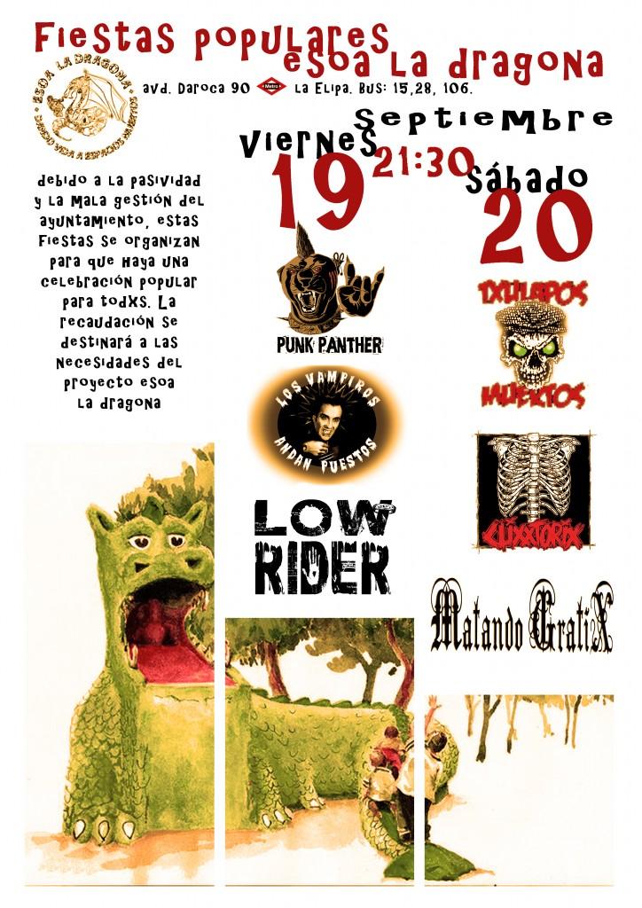 cartel musdical fistea alternativas la elipa 2014