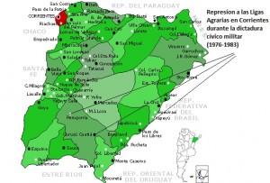 represion en Corrientes