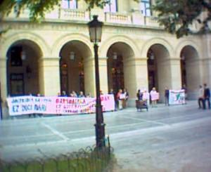 Diputazioan mobilizazioa