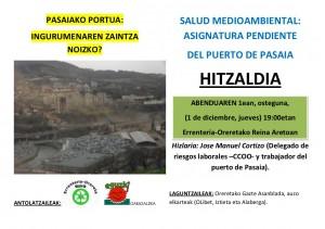 Hitzaldia portua KARTELA
