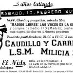 Concierto 5ª aniversario en CSO El Nido