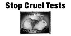 stop cruel tests